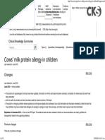 CMPA in Children. When to Suspect