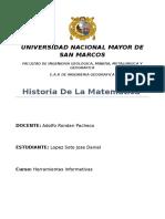 Historia de La Matemática Examen[1]