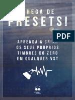 Chega de Presets - Síntese Sonora