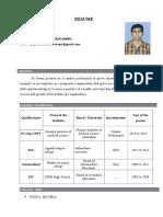 Resume Vijayan(1)