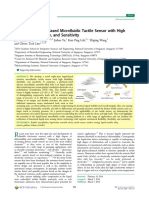 Triple-State Liquid-Based Microfluidic Tactile Sensor With High Flwxibility Durability and Sensitivity