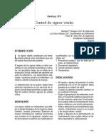 Control de Signos Vitales Articulo