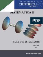 Guiìa de Praìctica Matemaìtica II 2016-2