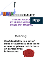 Confidentiality Ppt