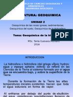 1. Geoquímica de La Hidrosfera1 (1)