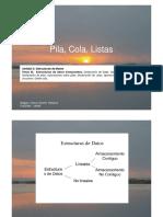 02-1 - Tema II ListaPilaColaConArreglos