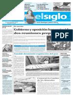 Edición Impresa Elsiglo 14-09-2016