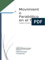 Movimiento Parabólico en El Tenis