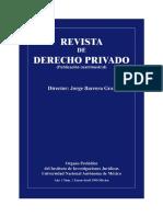Revista de Derecho Privado Número 1