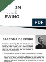 SARCOMA DE EWING HOSPI 1.pptx