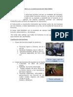 Clasificacion de tractores