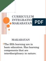 Curriculum Integration in Makabayan