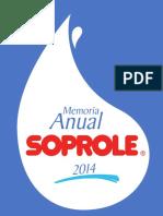 Memoria Soprole 2015