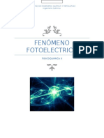 Fenomeno Fotoelectrico