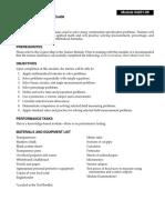 Sheet Metal Level2 Qualifications