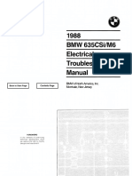 1988 BMW 635csi/M6 Electrical Troubleshooting