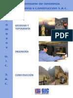 Brochure Company g.i.c. Sac