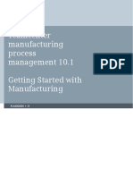 Getting Started Manuf Process Mgmt