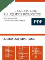 Estudio de Liquidos Corporales
