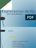 Exploracion de Ojo