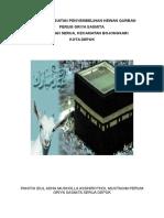 Laporan Kegiatan Penyembelihan Hewan Qurban 2016