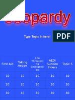 first aid jeopardy