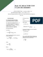 Informe Final Reactor Con Nucleo de Hierro Lab Maq 1