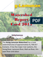 Asisig Lamunan Watershed Management Council Report Card