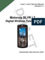motorola l7 slvr service manual level 1 and 2