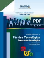 UF14 Técnica Tecnolóogica 2016