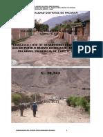 Construccion de Reservorio Apoyado en El Centro Poblado Pueblo Nuevo de Romani[1]