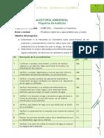 Programa de Auditoria Hacienda La Colombina