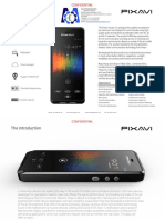 PIXAVI IMPACT X Intrinsically Safe Mobile Phone Datasheet Mecatronics Solutions Sac Lima PERU