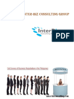 services by inter-biz consulting