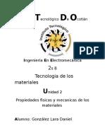 Propiedades Fisicas y Mecanicas de Los Materiales