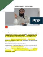 Imami Islami e Lejon Të Mbash Skllave Seksi