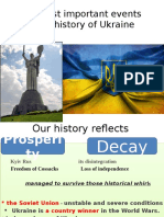 The Most Important Events in the History Of Ukraine