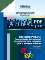 UF14 Educación Primaria 2016