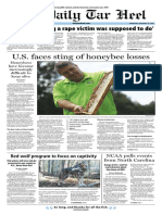 The Daily Tar Heel for Sept. 14, 2016