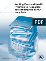 Hipaa Privacy Rule Booklet