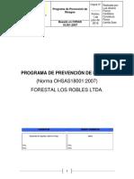 Programa de Prevención forestal