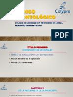 Código Deontológico de Colypro