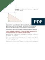 Teorema de Los Triangulos