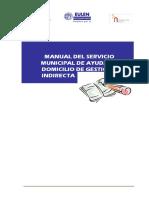 Manual Del Servicio Municipal de Ayuda a Domicilio de Gestion Indirecta