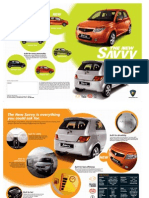 Proton Savvy Brochure