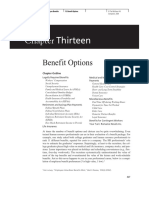 CH 13 Benefit Options