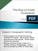 6.1, The Rise of Greek Civilization