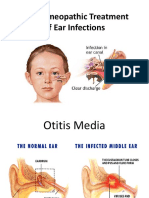 The Homeopathic Treatment of Ear Infections