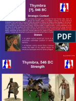 Battle of Thymbra 546 Bc