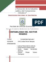 MINERIA PERU. contabilidad aplicada